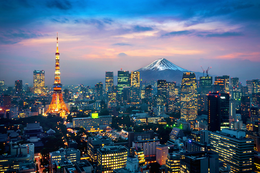 Tokyo Ranks No.1 for Global Real Estate Investment